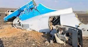 Il relitto del jet russo