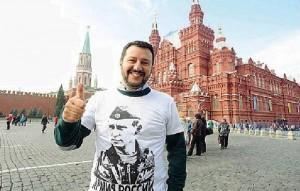 """Parigi. Matteo Salvini, """"leader senza passaporto"""", Sole 24"""