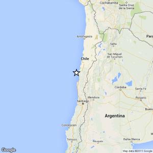 Terremoto Cile: magnitudo 6,9 vicino a Coquimbo