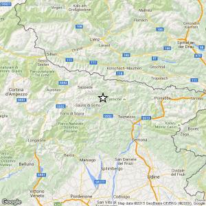 Terremoto Udine, 2 scosse in 2 ore: più forte del 3.2