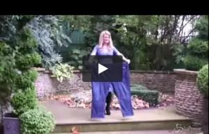 VIDEO Cheryl Blythe donna più dimagrita dell'anno