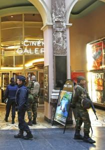 Coprifuoco a Bruxelles, blindata la capitale Ue