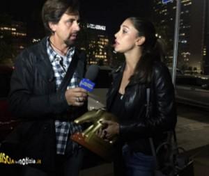 Belen Rodriguez-Selvaggia Lucarelli: Tapiro d'Oro doppio