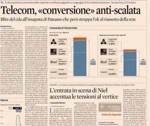 Telecom converte azioni risparmio in ordinarie. E Patuano...