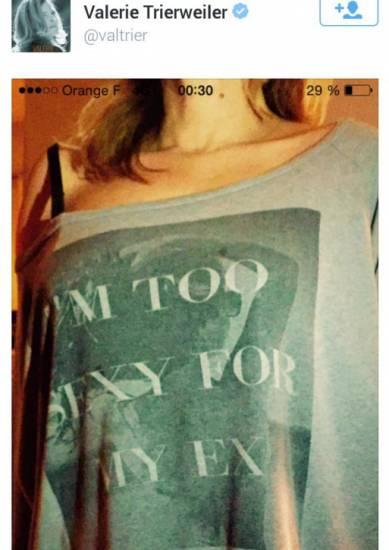 Valerie Trierweiler, selfie sexy contro Hollande... FOTO
