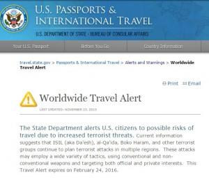 """Attentati Isis, allerta mondiale Usa: """"Attenti ai viaggi"""""""