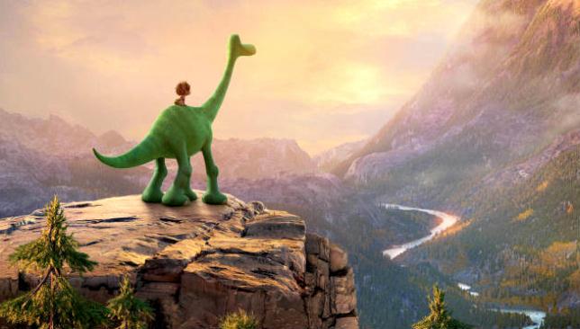 Viaggio di arlo cartone disney pixar al cinema video