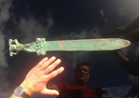 America scoperta dai romani? Su isola di Oak trovata spada