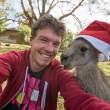 Alex, il professionista dei selfie con animali10