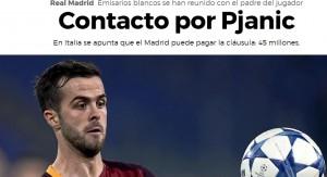 La notizia sul sito spagnolo Marca