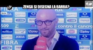 """Walter Zenga alle Iene: """"Barba? Me la coloro"""""""