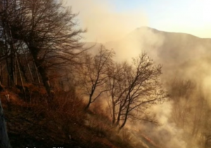 YOUTUBE Incendio Altopiano Asiago: a fuoco 100 ettari