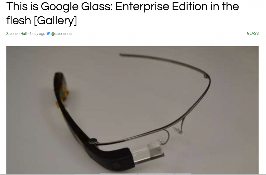 YOUTUBE Google Glass 2.0: pieghevoli e resistenti all'acqua