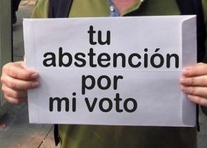 Spagna: mi astengo e regalo il voto a chi non può votare