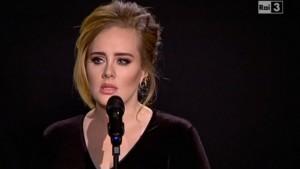 """Adele da Fabio Fazio: """"Sono soltanto una signora che canta"""""""