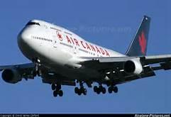 Un Boeing 777 della AirCanada