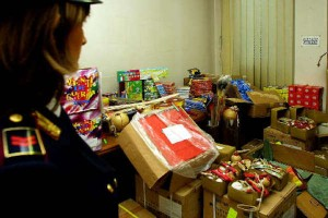 Botti: sequestrati 1.300.000 pezzi pericolosi