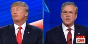 """YOUTUBE Usa 2016, Jeb Bush a Donald Trump: """"Istigatore"""""""