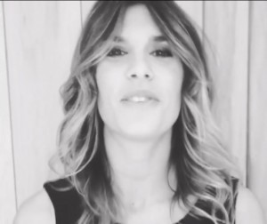 Elisabetta Canalis, buone feste su Instagram