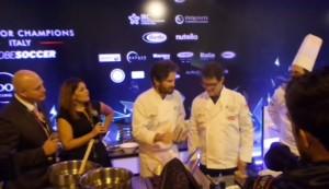 Carlo Cracco e Fabio Capello, risotto per due a Dubai