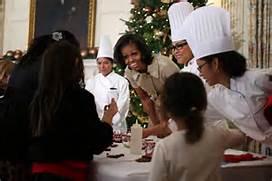 La cena natalizia di Obama e famiglia