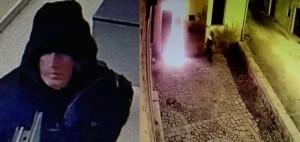YOUTUBE Comiso, dà fuoco al Comune. Polizia pubblica video