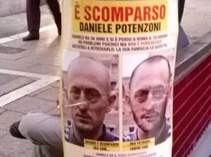 Daniele Potenzoni scomparso: avvistamento in zona San Pietro
