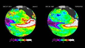 Guarda la versione ingrandita di El Nino pericoloso come nel 1998: il clima cambierà così (foto Nasa)