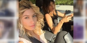 Elisabetta Canalis e Maddalena Corvaglia insieme negli Usa