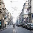 Smog, Milano città fantasma FOTO: strade senza auto 6 ore 10