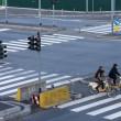 Smog, Milano città fantasma FOTO: strade senza auto 6 ore 5