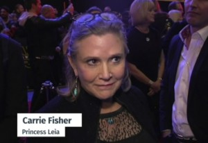 Star Wars: Carrie Fisher insultata, si difende su Instagram