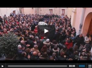 VIDEO Funerale Gaia Piccato, bimba morta per la stufa