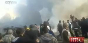 YouTube: kamikaze Isis si fa saltare in aria a Homs, Siria