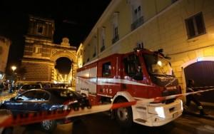 Roma, incendio in un palazzo a Pietralata: un morto