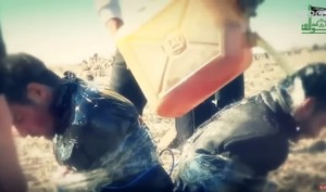 YOUTUBE Video choc Isis: prigionieri fatti esplodere