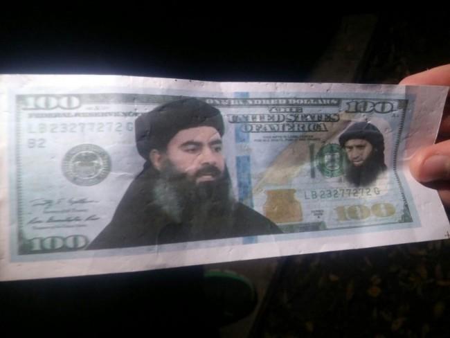 Isis, mistero in Israele: dollari con volto al-Baghdadi