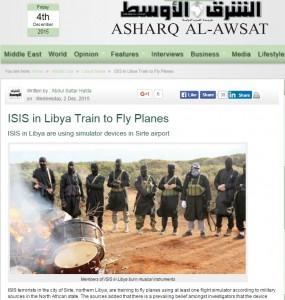 Isis, attacchi aerei? In Libia simulatori di volo
