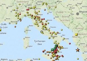 Terremoti: scosse 3.5 e 2,4 al largo di Palermo, 8 a Natale