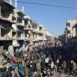 YouTube: kamikaze Isis si fa saltare in aria a Homs, Siria2