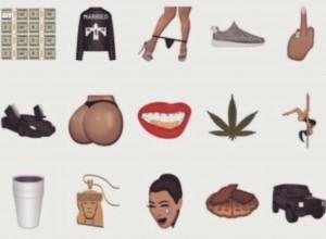 Kim Kardashian lancia Kimoji, app piena di emotion