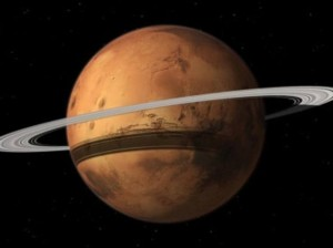 Marte distruggerà la sua Luna e avrà un anello come Saturno