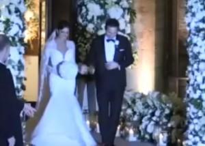 Frank Lampard e Christine Bleakley sposi: l'abito è scollato