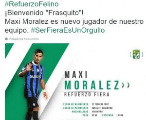 Calciomercato Atalanta: Maxi Moralez va via al Leon