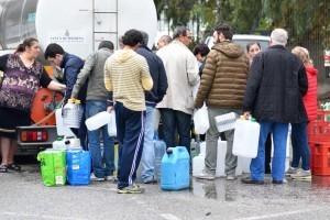 L'emergenza acqua a Messina nel novembre scorso