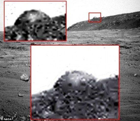 Marte, spunta cupola di metallo. E Nasa non smentisce
