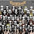 Un altro panda nascosto tra i fan heavy metal. Lo vedi? FOTO01