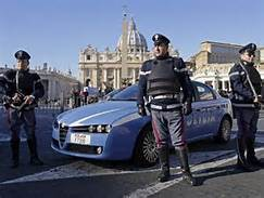 Polizia a San Pietro