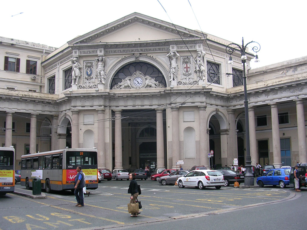 Genova allarme bomba alla stazione porta principe - Genova porta principe ...