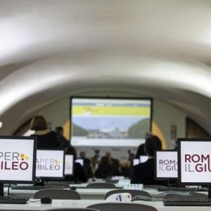 Giubileo: Press Point a Roma, Eni sponsor tecnico